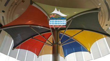 مظلات شد انشائي شمسيه مظلات حميان 0535990477