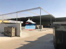 اعمال مظلات للمصانع من الشنكو